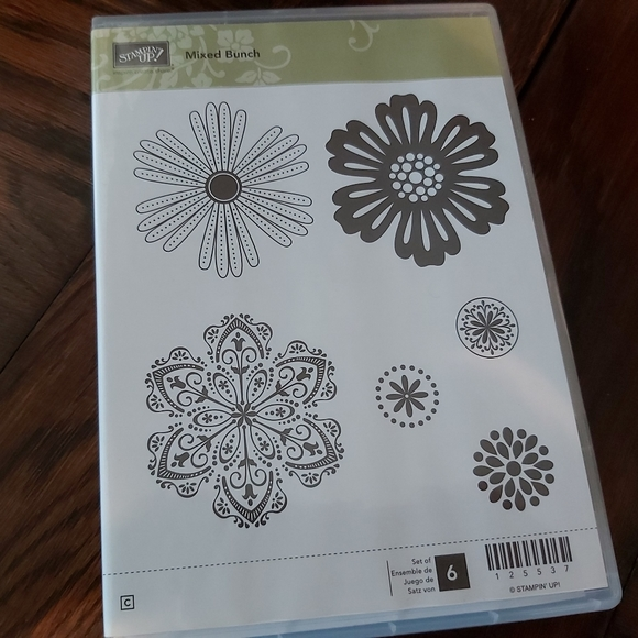 ♡STAMPIN UP * MIXED BUNCH* STAMPS